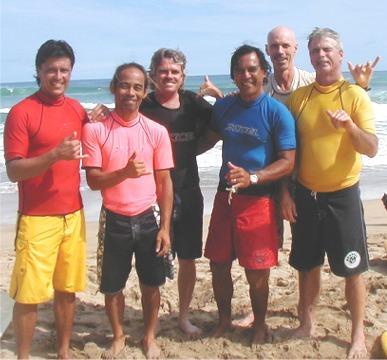 Al Carrera, Ronald Lopez, Odie, Bobo Ham Young, Roy Chambers & Matt Irons