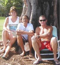 Annette Surles, Louise & Mark Sausen