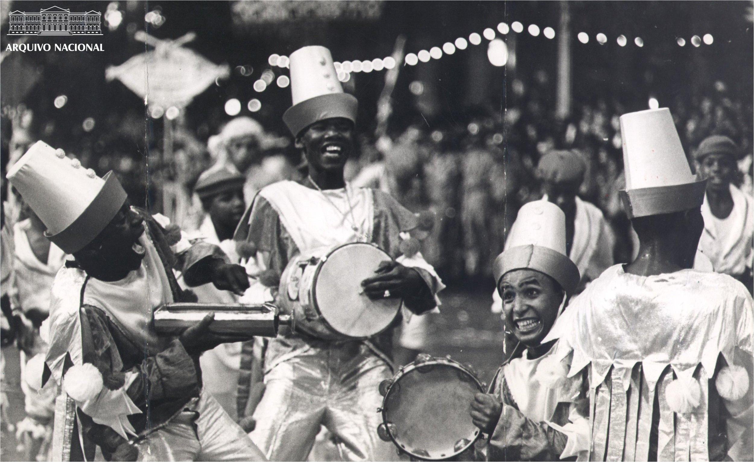 Carnival parade in 1965 (Photo: Brazilian National Archive)