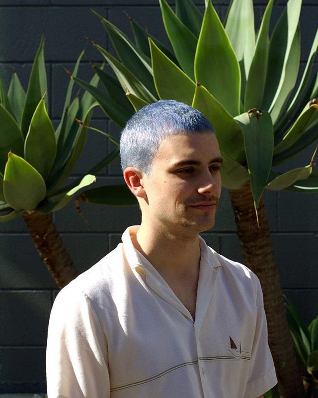 (Baby) blue steel - - - - #staino #evohair