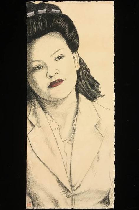 Ester Hernandez,  Rosie, La Pachuca (1944) , 2017