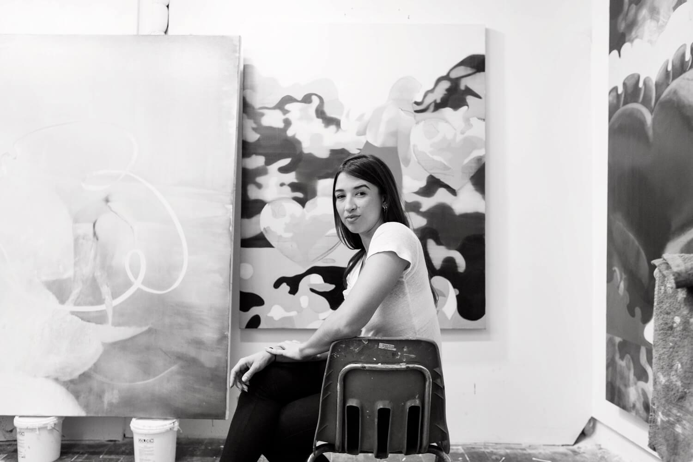Marcela Flórido in studio. Photo by Leandro Viana (All images courtesy of Marcela Flórido)