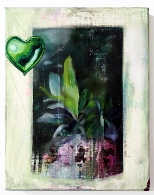 Artwork by Marcela Flórido during artist residency