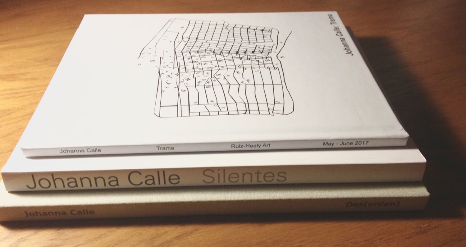 Books on Calle's work available for viewing or purchase at Ruiz-Healy Art, San Antonio