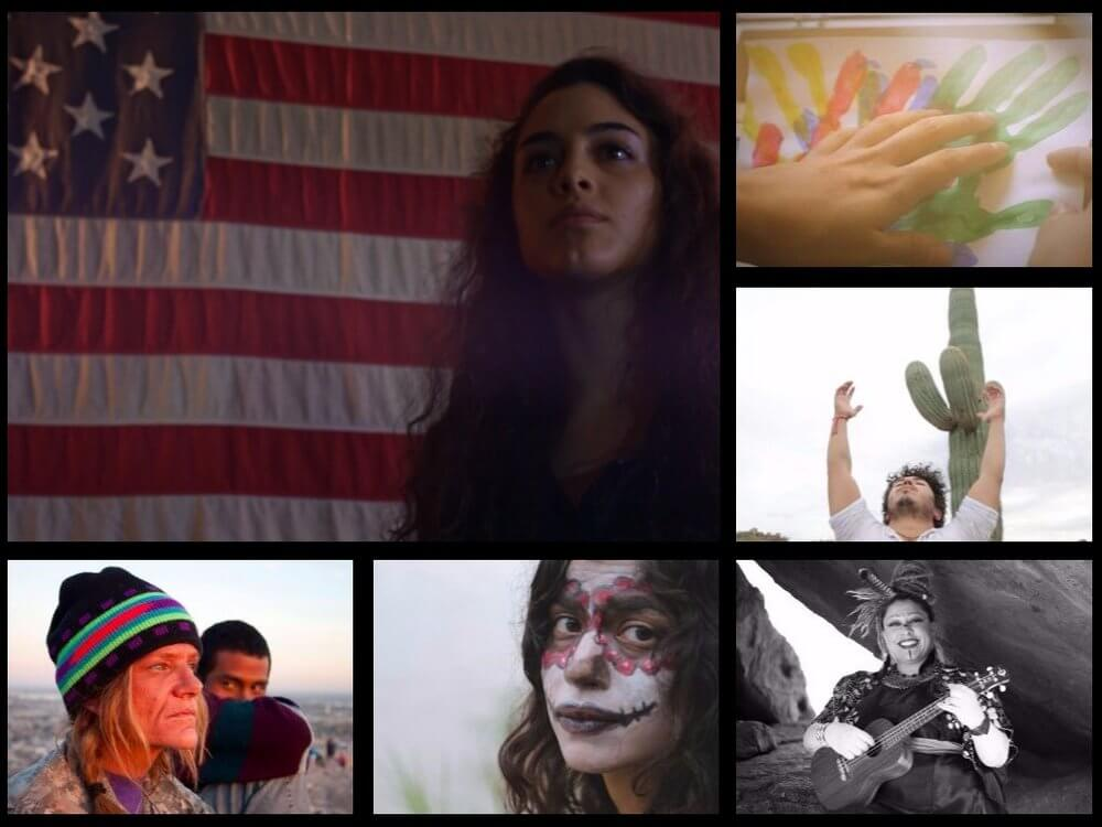 Clockwise from left: Overland, Memory Box, Undocumented Freedom, The Appleseed Project, La Catrina, Child of the Desert