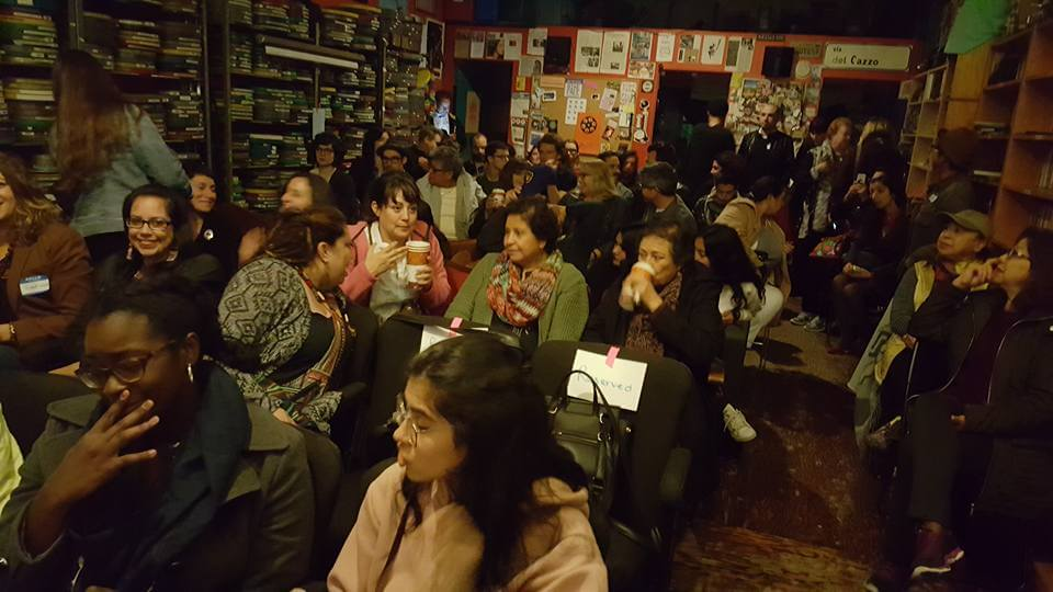 Audience at Femme Frontera Screening