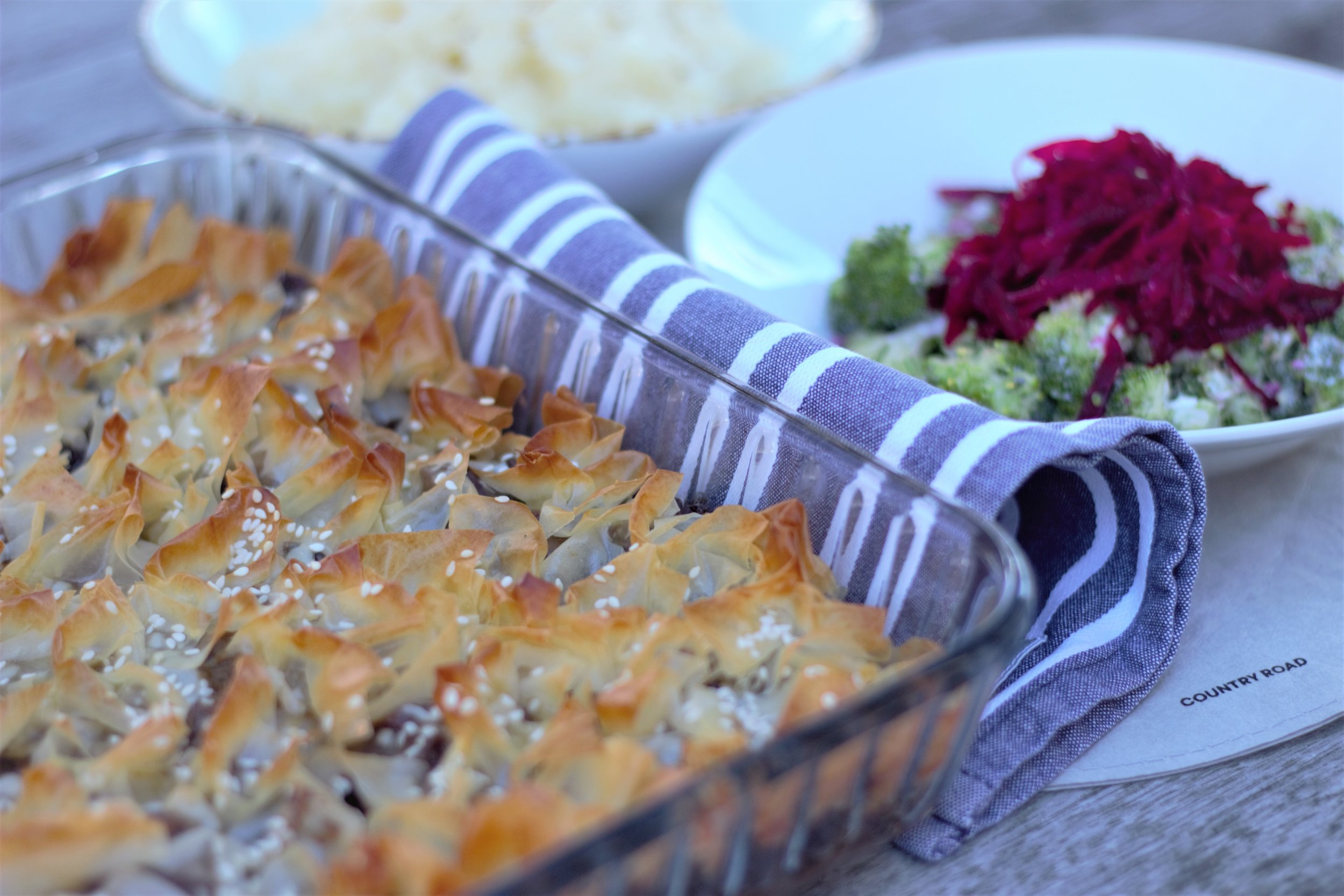 Tender Beef Pie - This beef pie uses cheap meat cuts and simple ingredients to create tender deliciousness for the whole family