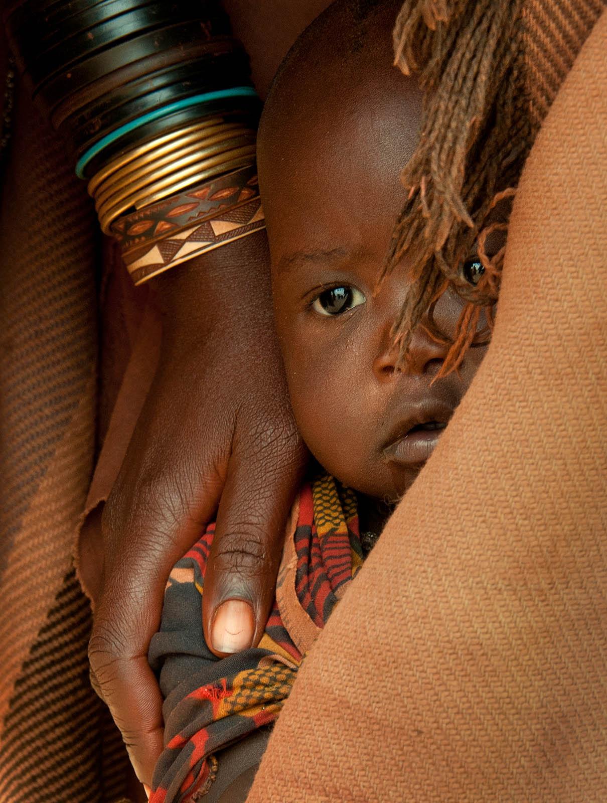 Himba child Namibia