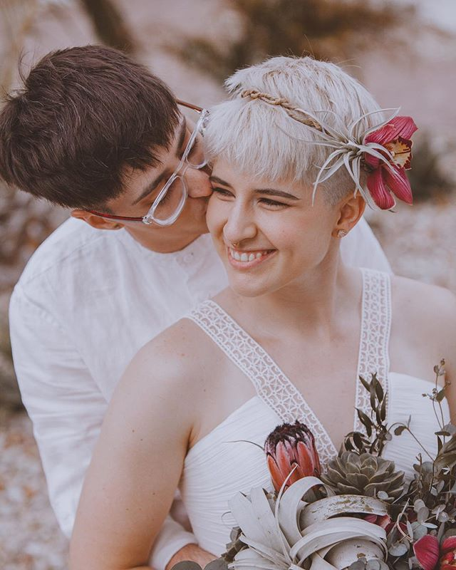 """""""A friend is someone who knows all about you and still loves you."""" — Congrats to Katie and Cole for tying the knot. Katie's smile can light up a room."""