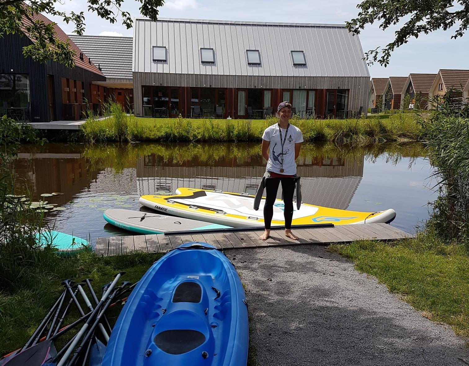 Paddleboarding & canoe rental -