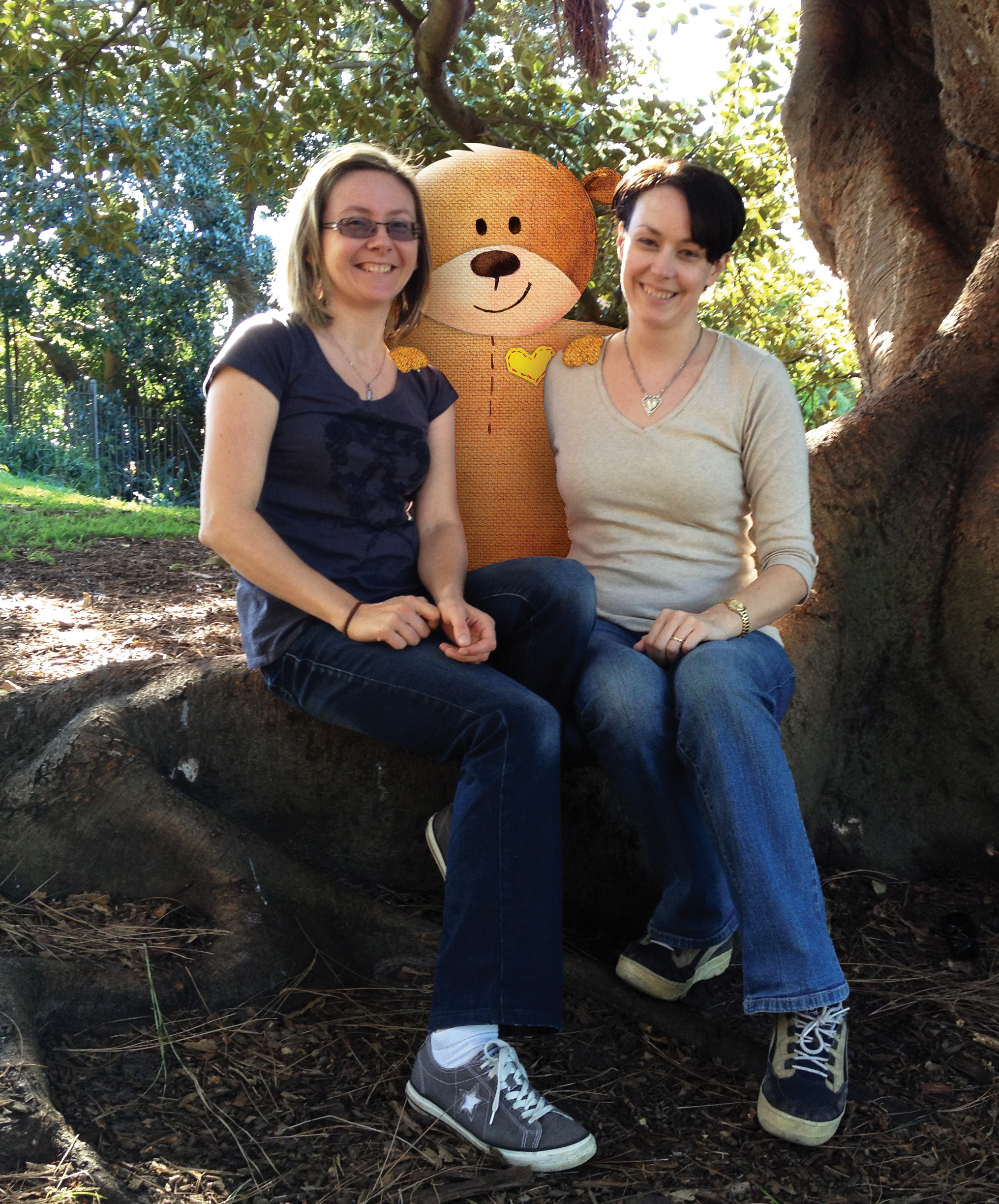 Sare Christensen and Sarah Cummings, the creators behind Teach Ted.