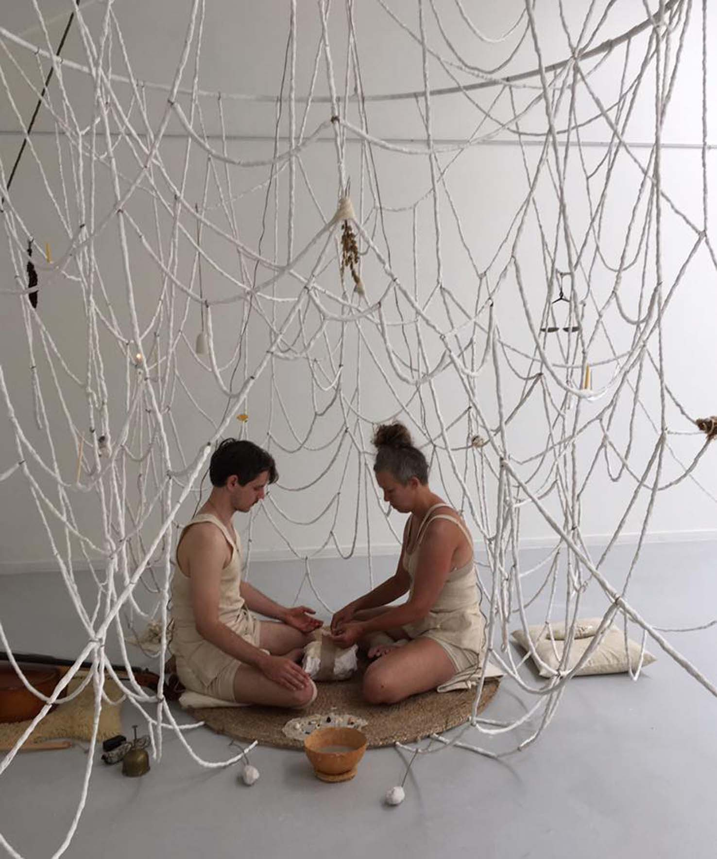 Christin Johansson, Clay tempel, a place for healing performance.jpg