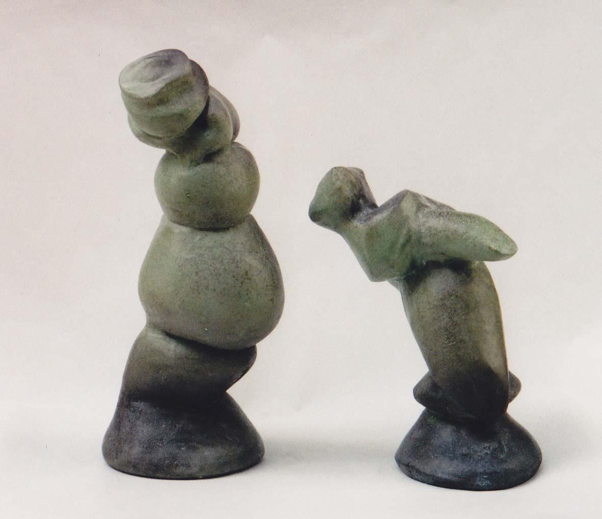 Skulpturelle undersøgelser fra Clay Art i Aarhus