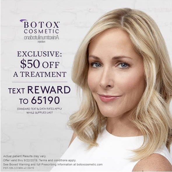 Thinking of trying Botox for the first time or maybe it's time for another treatment! This offer is for new and existing Brilliant Distinction members. Text the code! Call me for any questions and to book your appointment! 903-736-9622 @botoxcosmetic #botox #npinjector #simplybliss #lindaletexas #byebyewrinkles #injectables