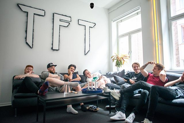 Yesterday we said our goodbyes to the awesome @nochance.gg team who has been #bootcamping here at #TribalHQ for the past week. It's been a pleasure to experience the spirit of different teams.  From everyone at #TFT good luck in the Berlin Minor #GiveThemNoChance 💪