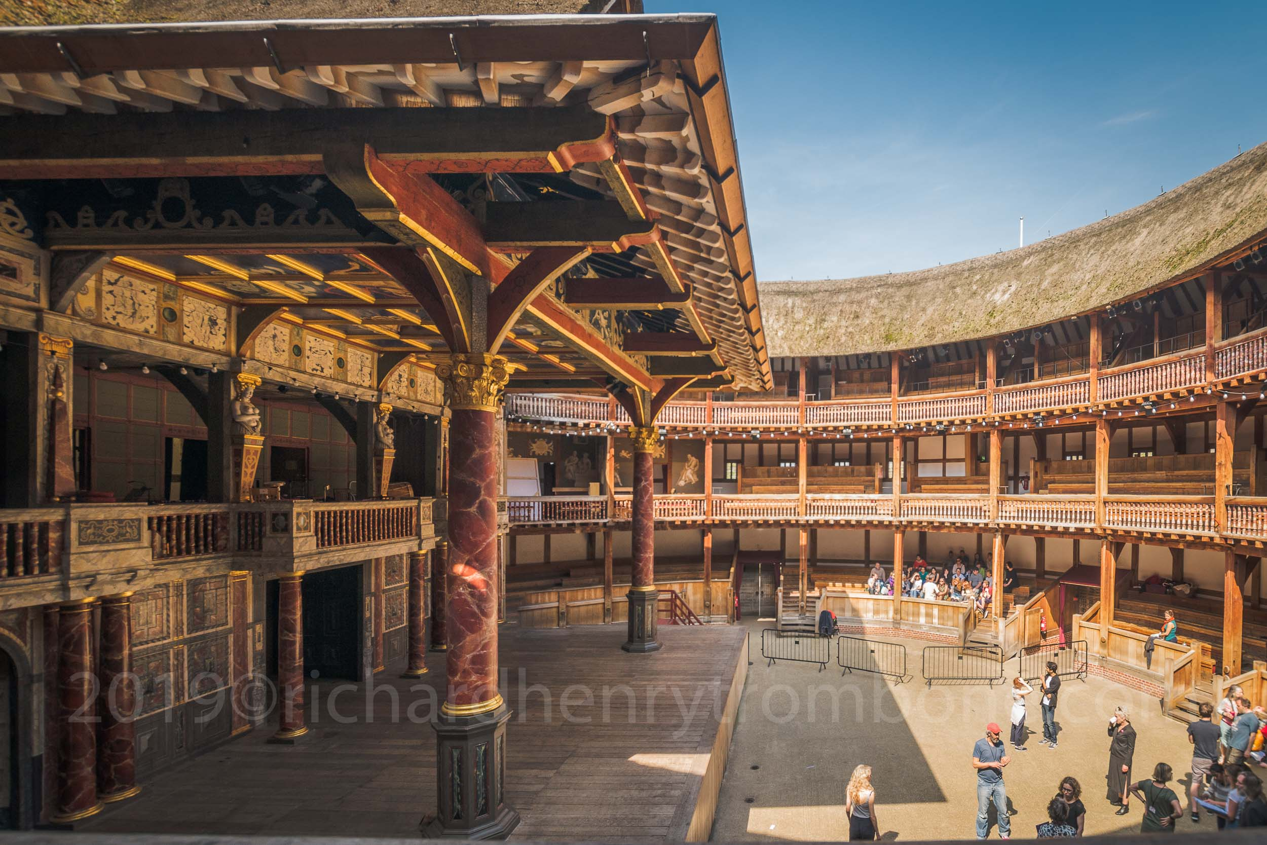 Henry V - Press day May 10th Shakespeare's Globe