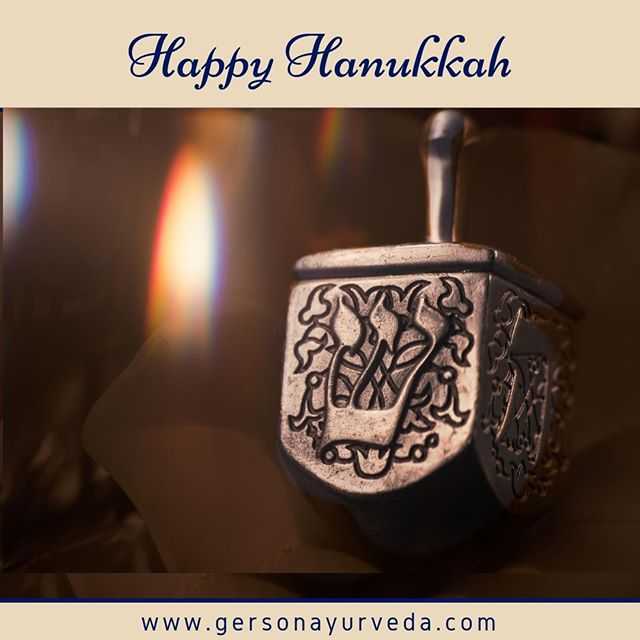 May all the joys of Hanukkah fill your heart throughout the New Year.⠀ ⠀ buff.ly/2Oy0pMe⠀ ⠀ #Hanukkah #holidays #newyear #2018 #happyhannukkah #gift #menorah #december #happyholidays #ayurveda #ayurvedicdoctor #ayurvedicmedicine