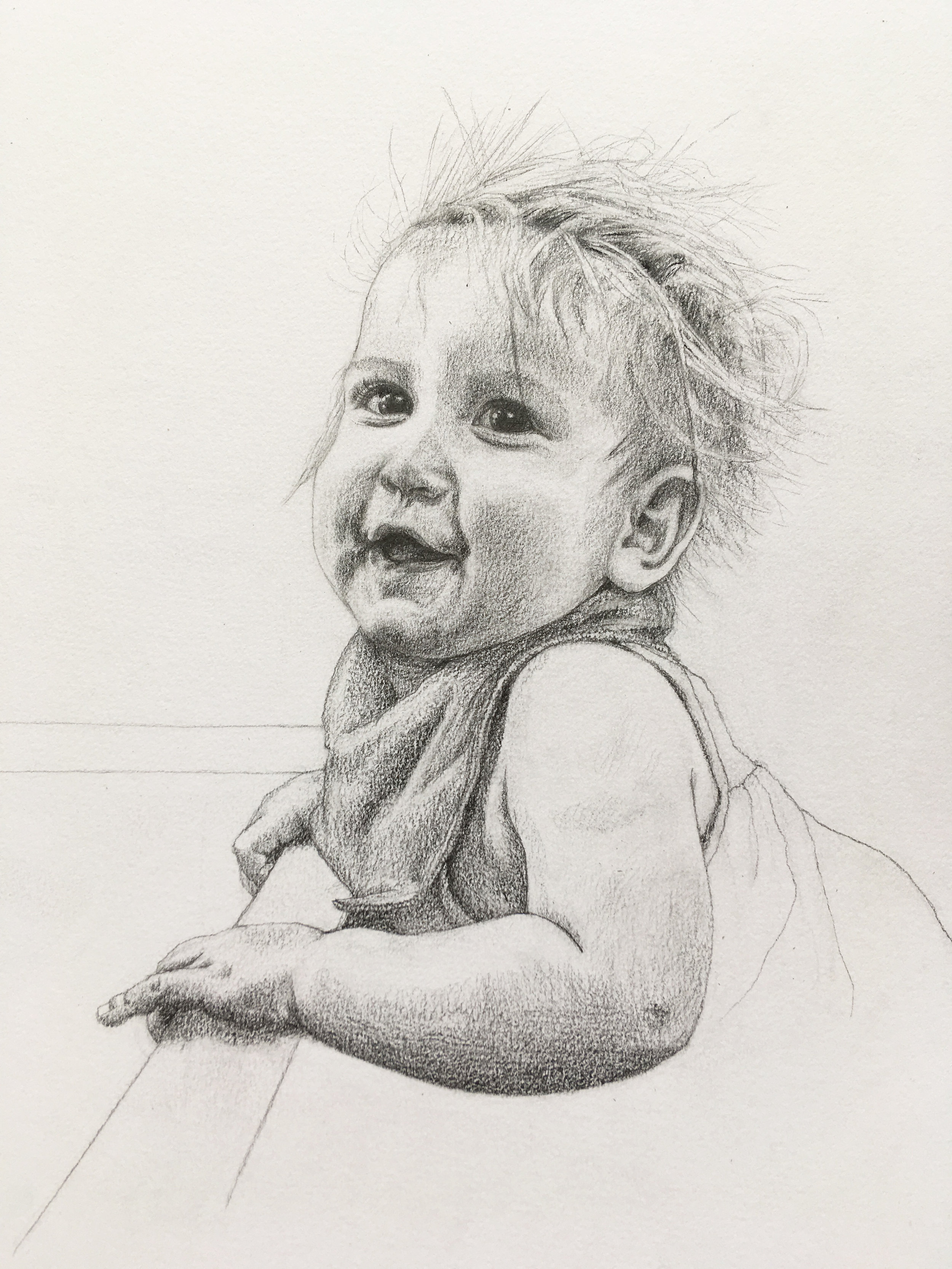 Pencil on paper A3