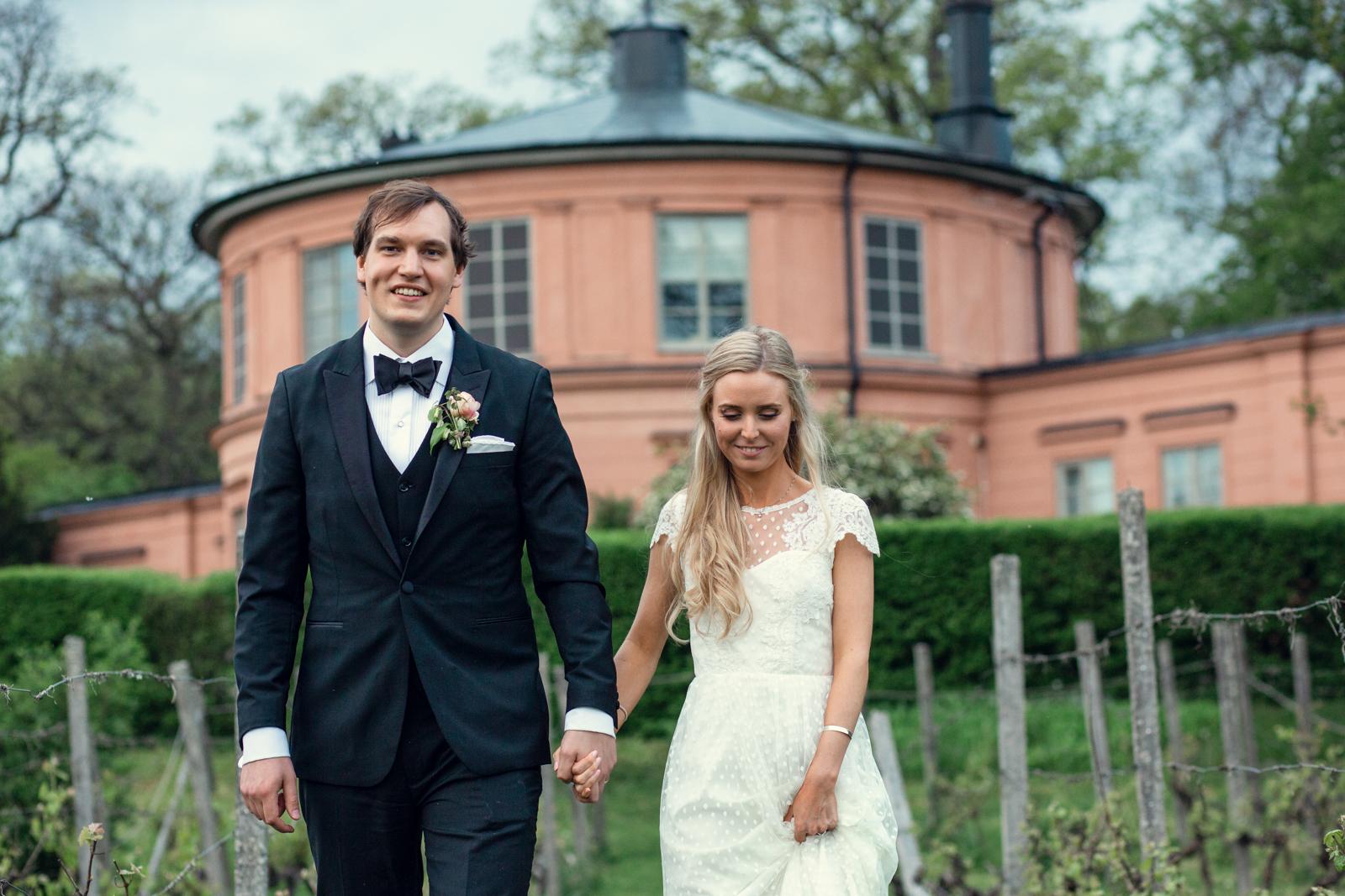 Emma & Simon - Bröllop Rosendal - på Rosendal. En dag full av kärlek och värme!