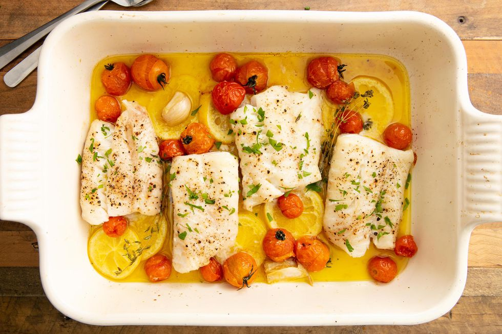 Perfect Baked Cod -