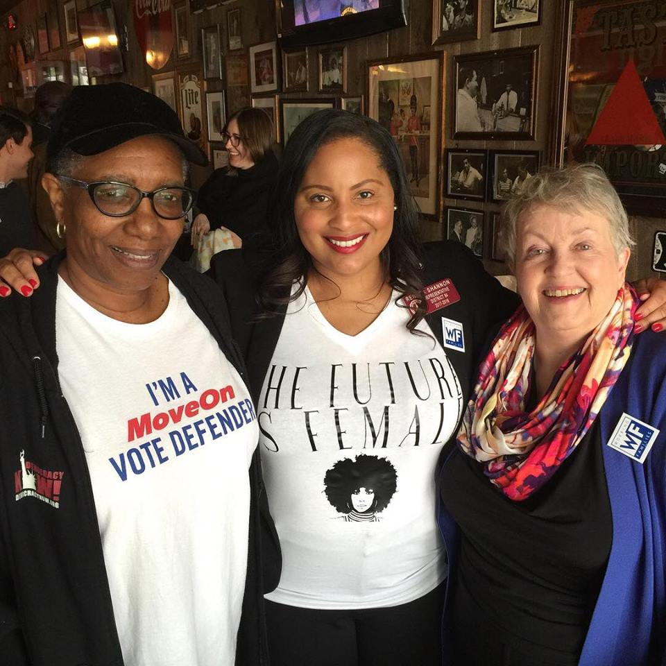 Her Term - Renitta is also the co-founder of Her Term, a Georgia-based initiative committed to targeting, recruiting, and electing progressive women into office. Her work has been featured in TIME Magazine, Cosmo and Elite Daily and continues to maintain her as a highly sought after public speaker on equality and reproductive rights and justice.