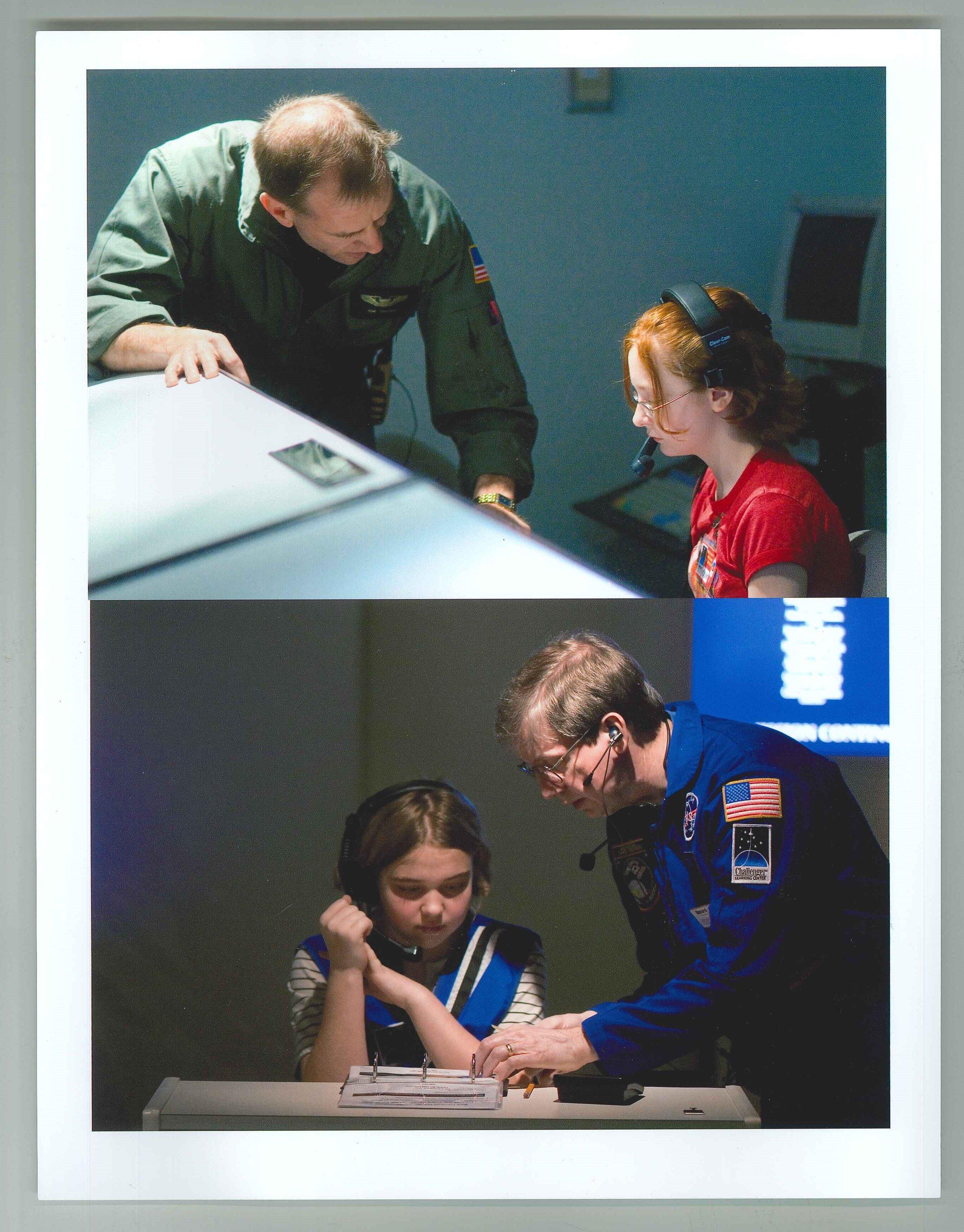 Flight directors assisting students.jpg