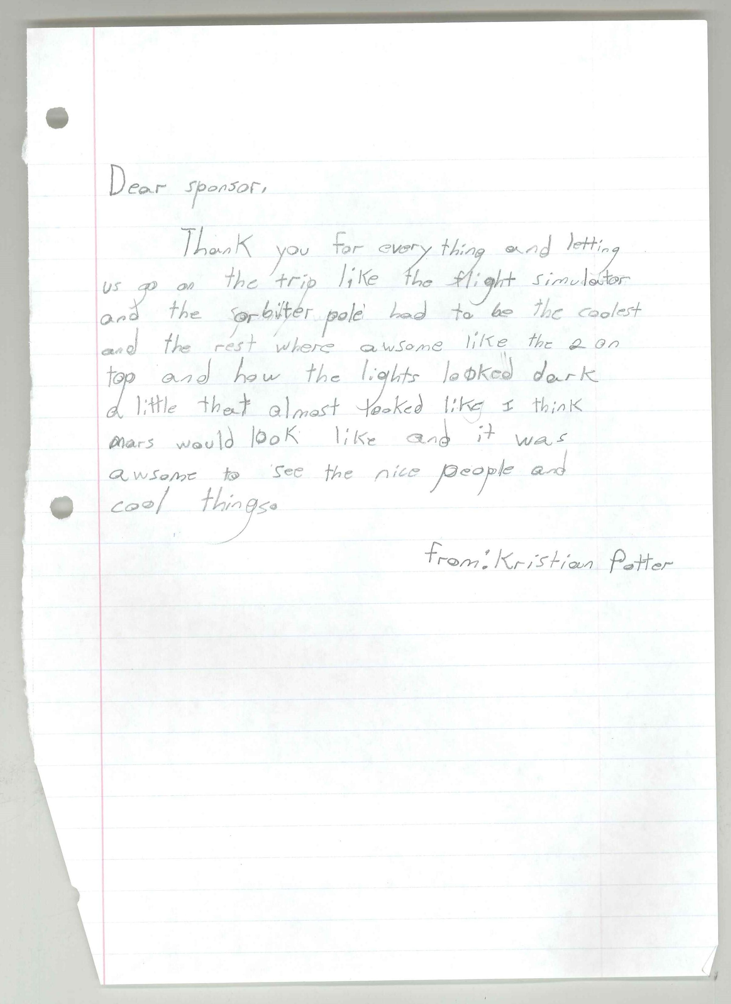 2015-06-23 Martha Jane Potter Elementary- Linda Cantrell-student letter 1.jpg