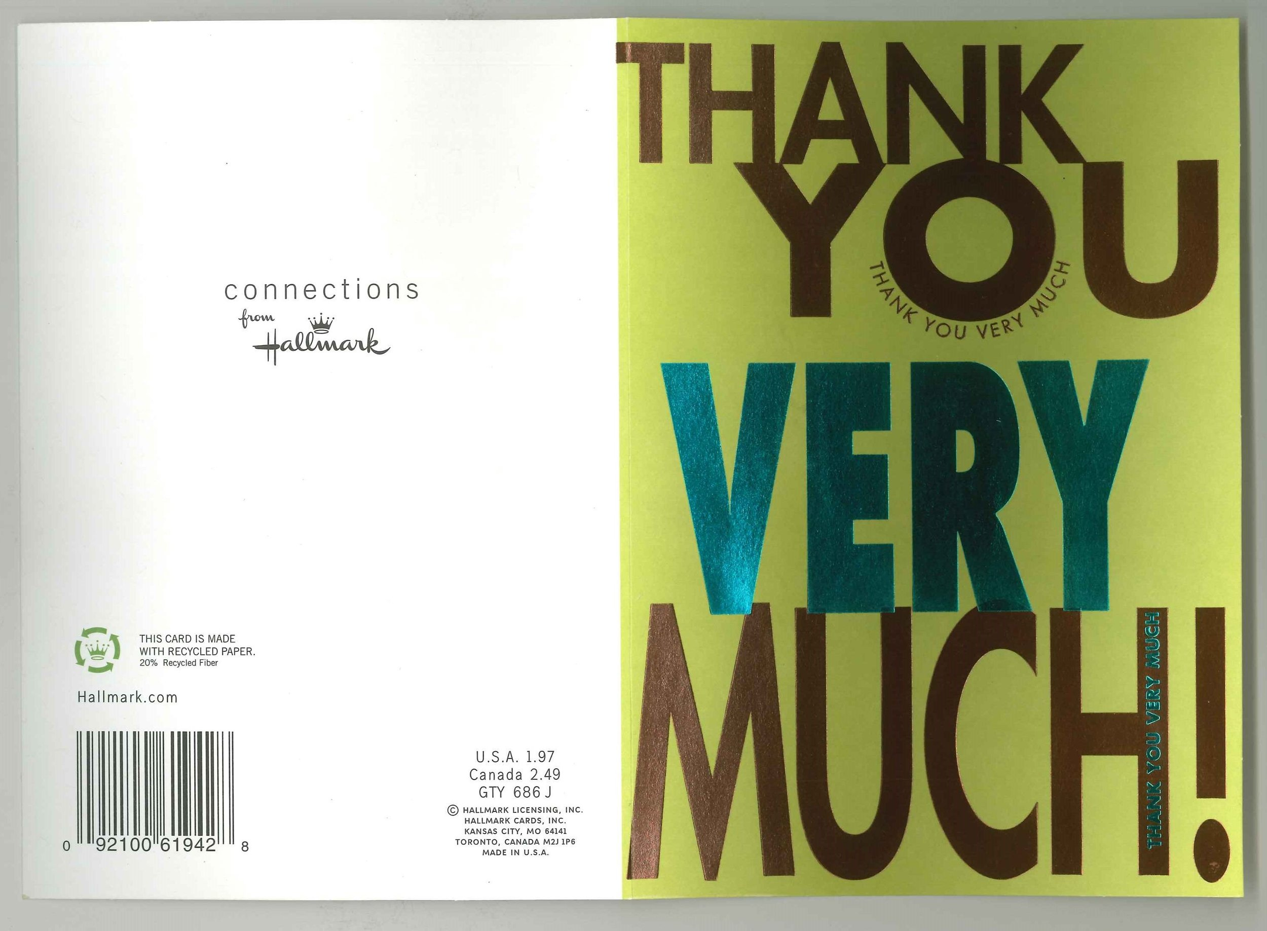 Paintsville Elementary Fourth Grade Thank You card front and back.jpg