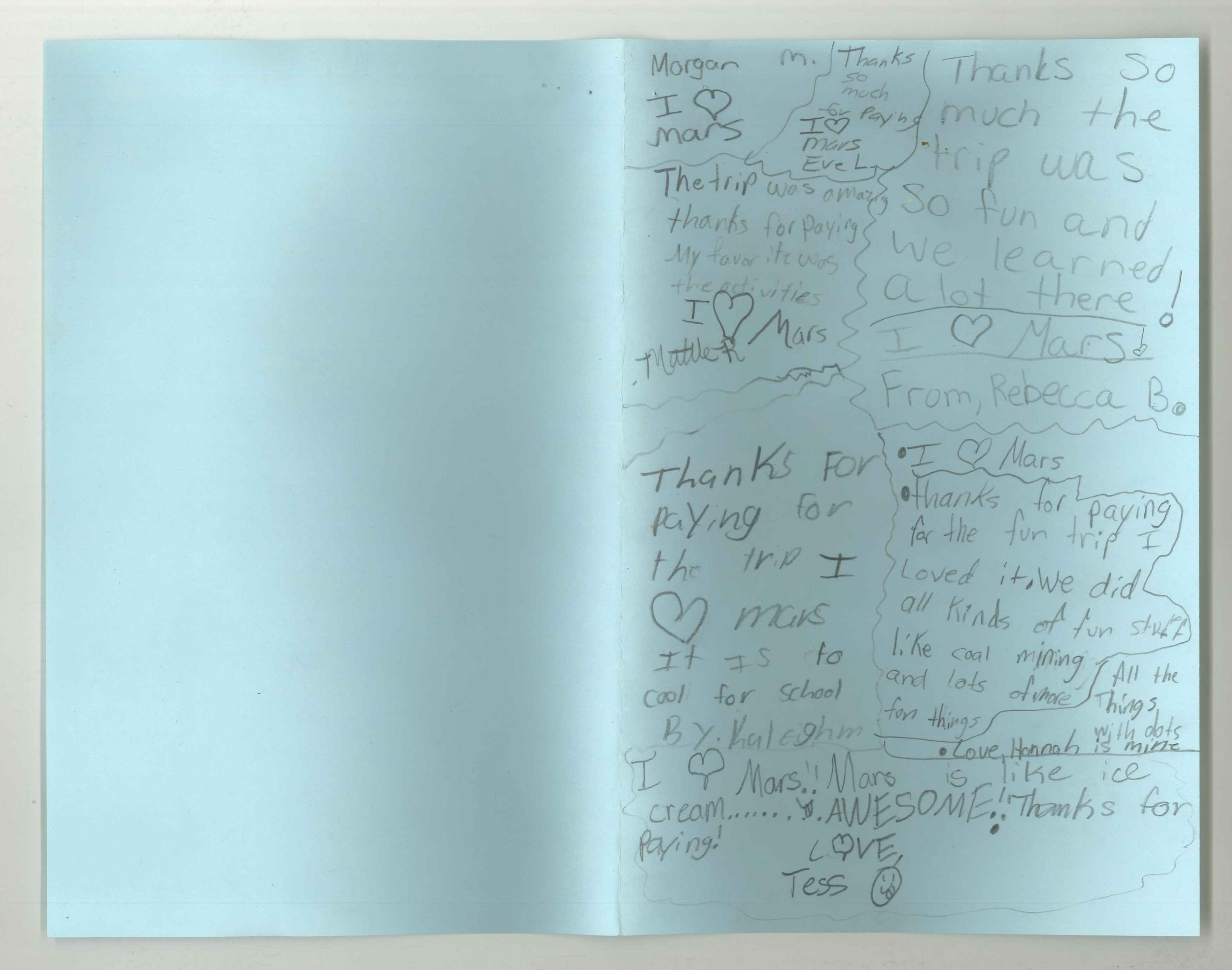 Paintsville Elementary Fourth Grade--Student Thank You Notes 1.jpg