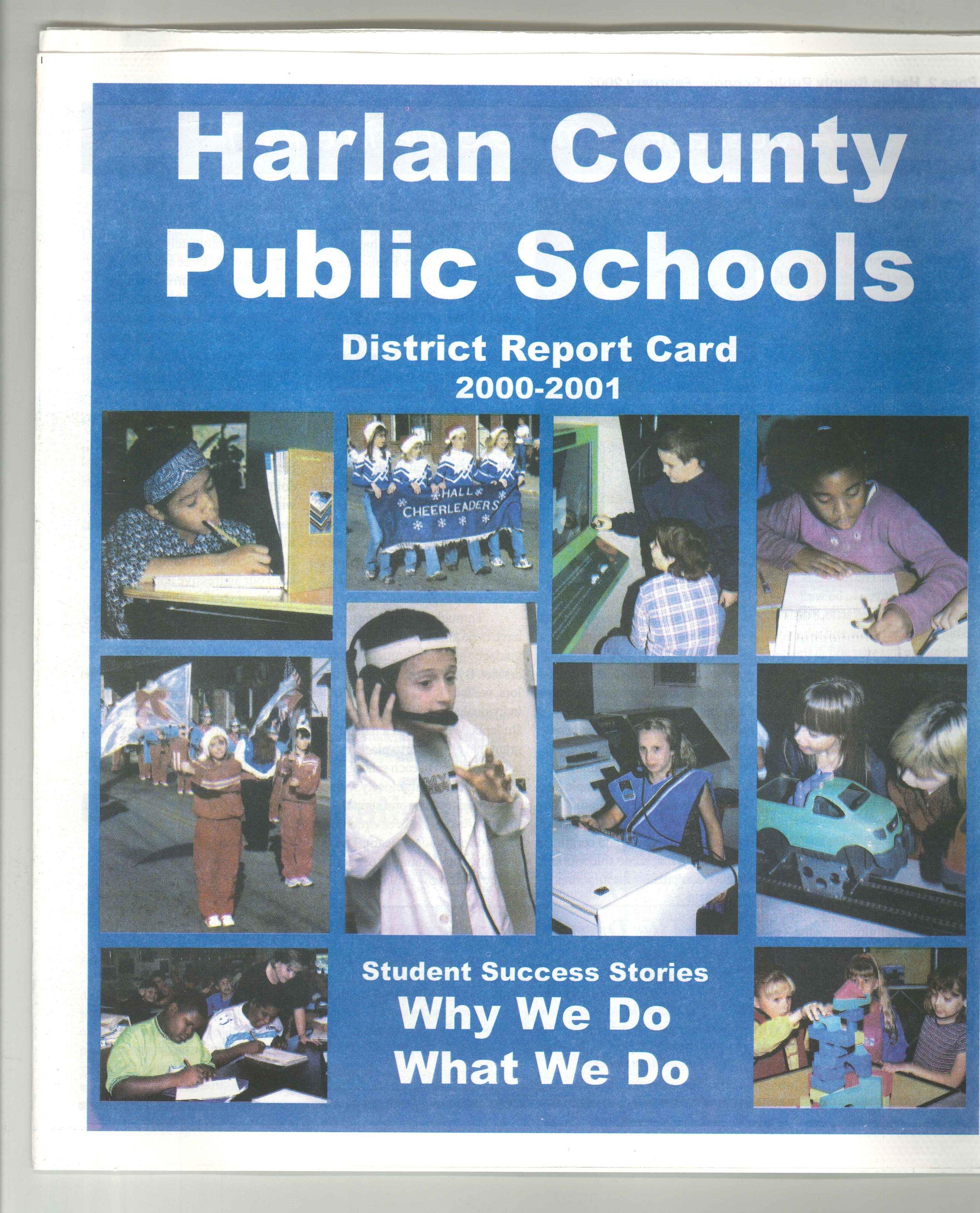 2002-02 Harlan County Public Schools District Report Card 2000-2001.jpg