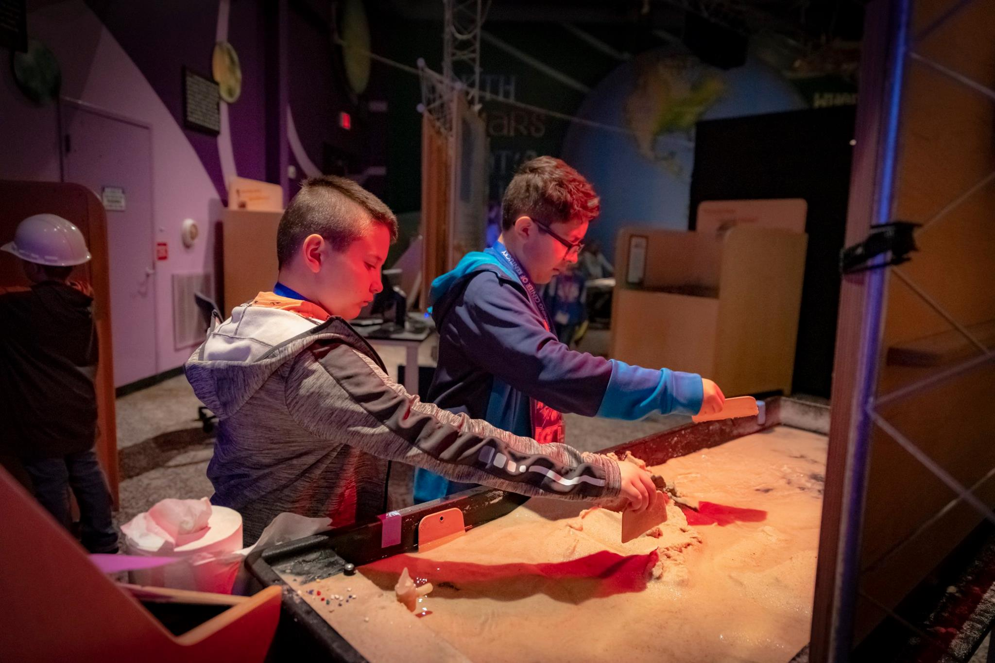 Mars Invasion Party - Come Explore Mars for your Birthday! In Mars Invasion, you'll learn all about Mars while you check out cool exhibits using Virtual Reality, our Flight Simulator, Magnetic Fluids, and more!