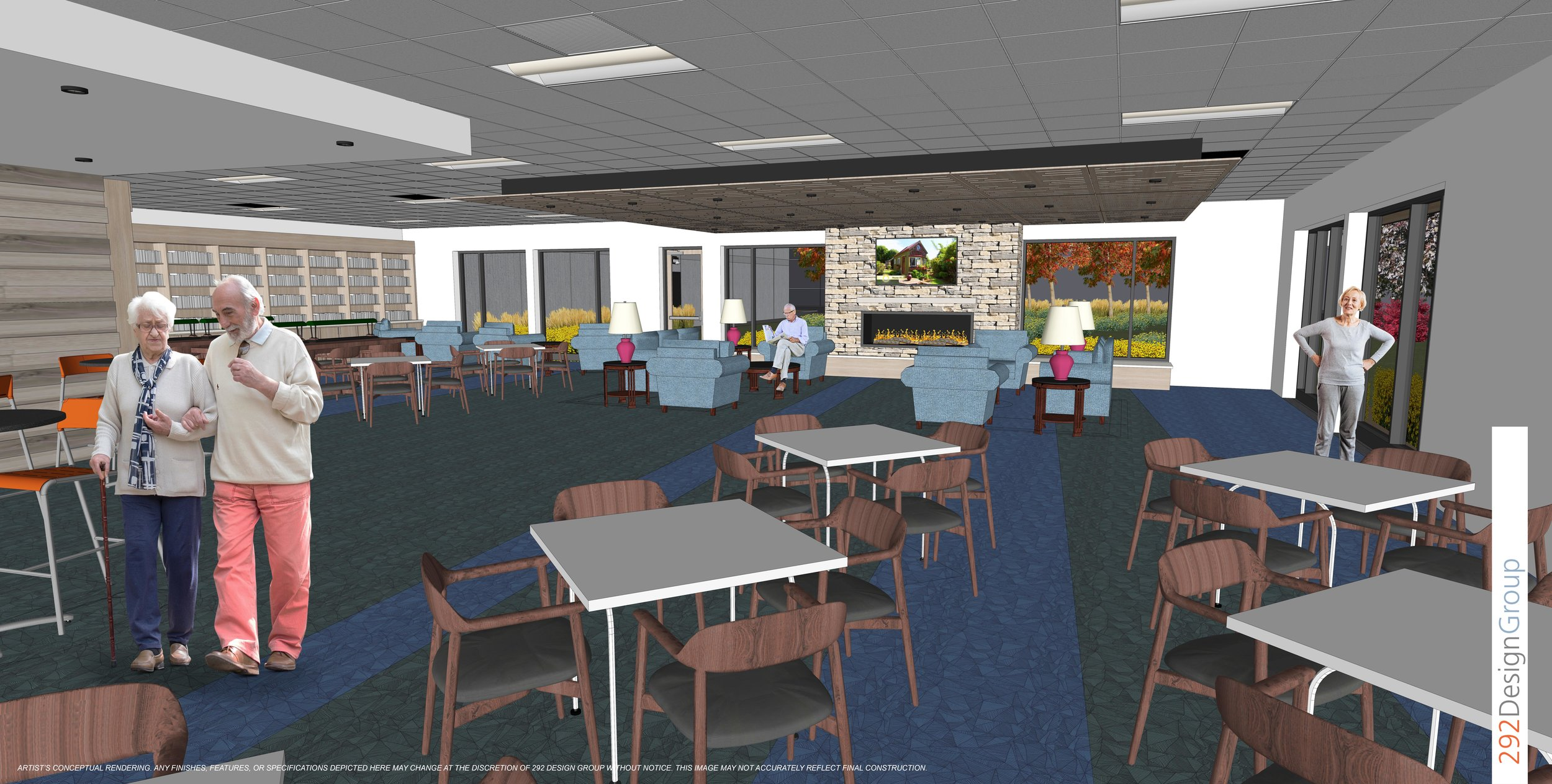 Rendering of New Senior Facility
