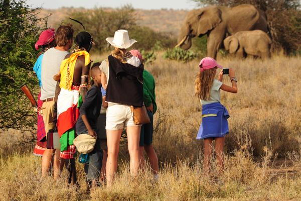 5 Night Tumaren Walking Safari - A five night walking safari spanning the Tumaren conservation area and neighboring land.
