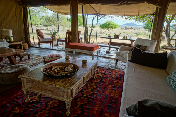 - Walking safaris and activities from our beautiful tented camp on Tumaren Ranch.