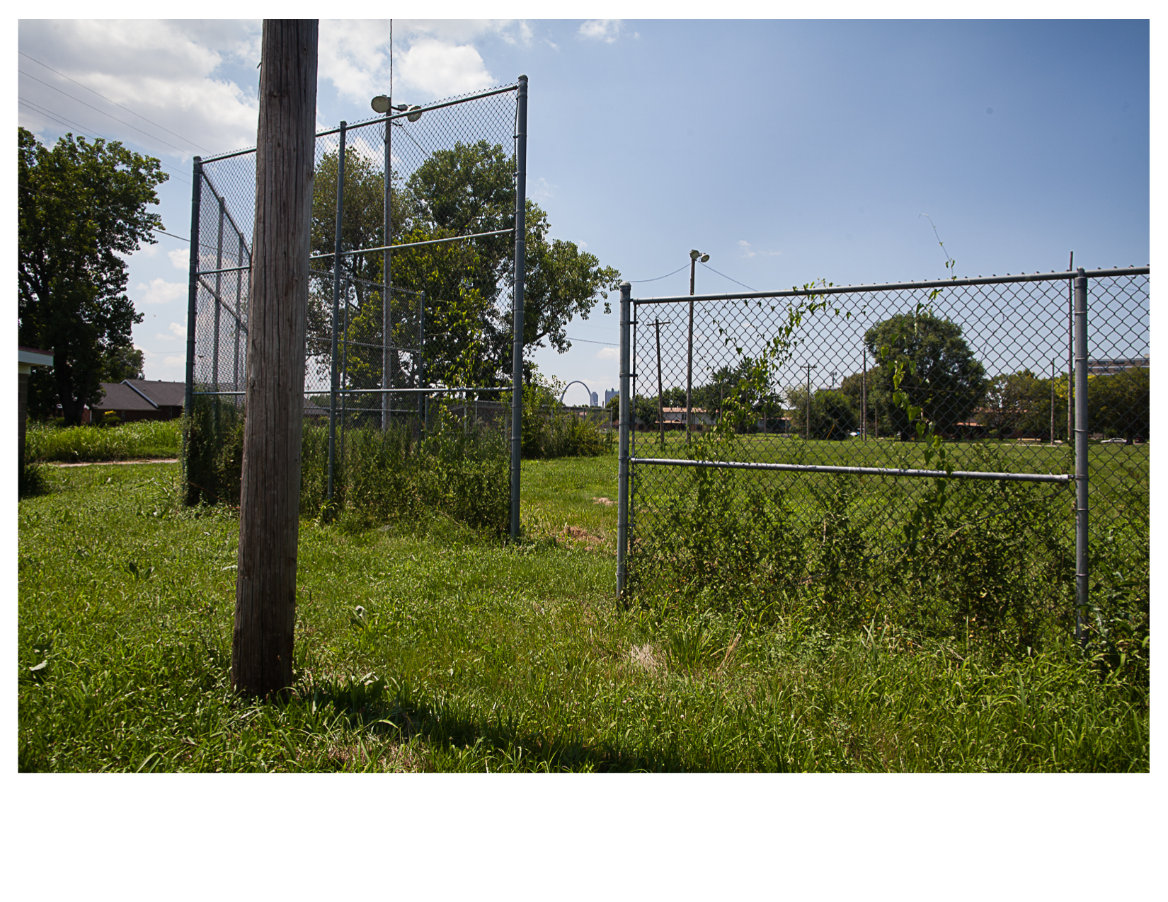Abandoned Ball Field, East St. Louis, IL