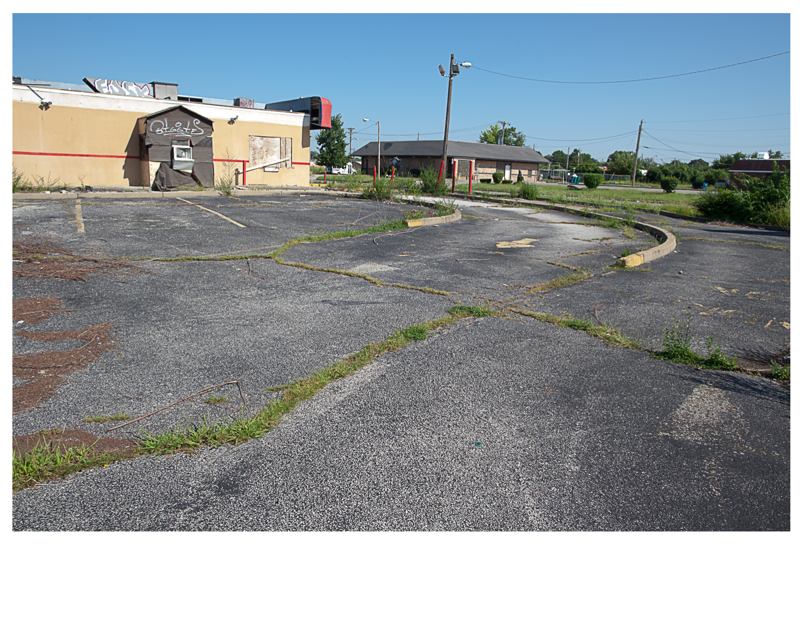 Abandoned Drive Thru, East St. Louis, IL