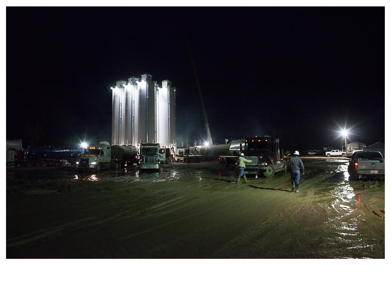 Fracking Site South of Shreveport, LA