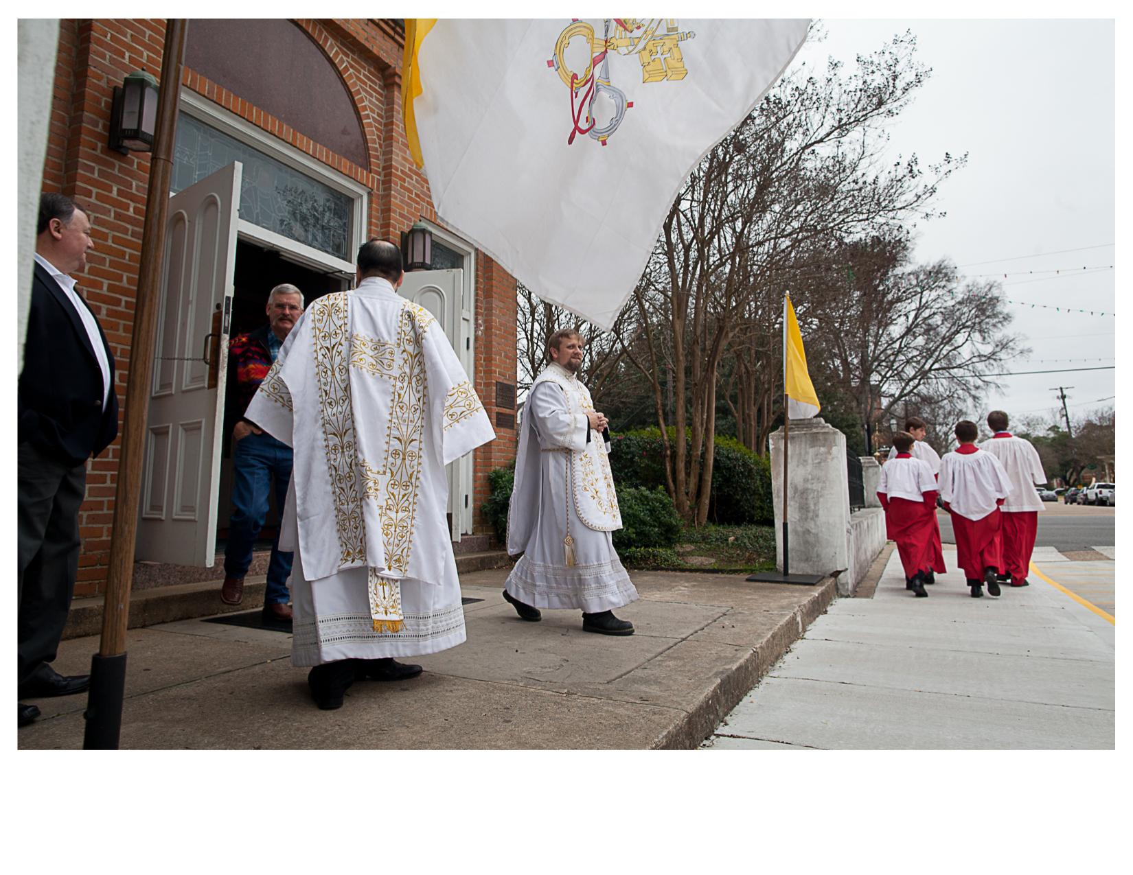 After Sunday Mass, Natchitoches, LA