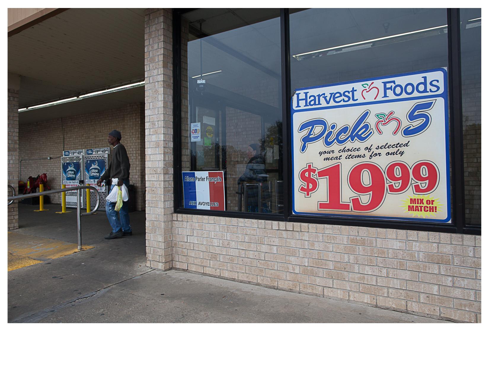 Let's Speak French, Harvest Foods, Marksville, LA