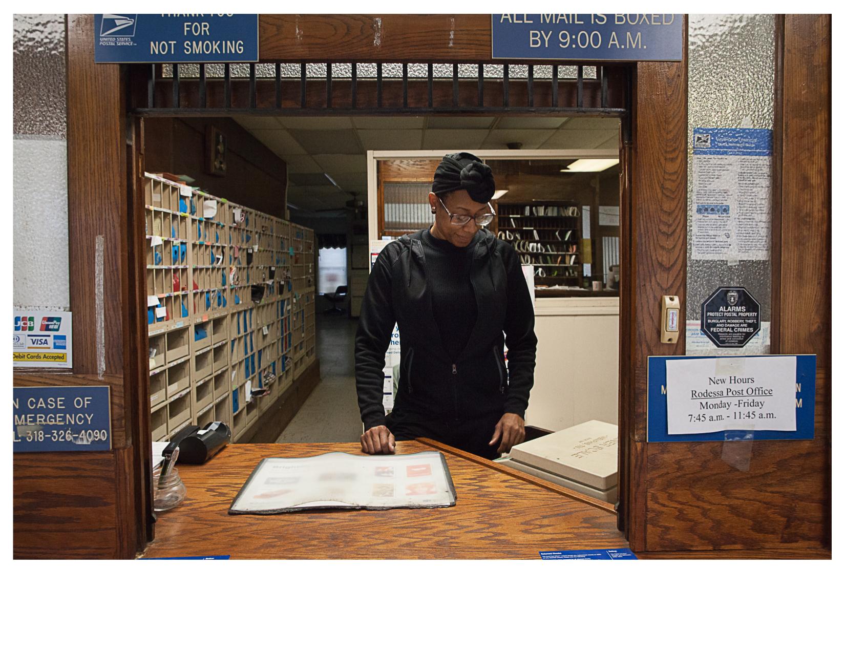 Wilyolanda, Post Office, Rodessa, LA