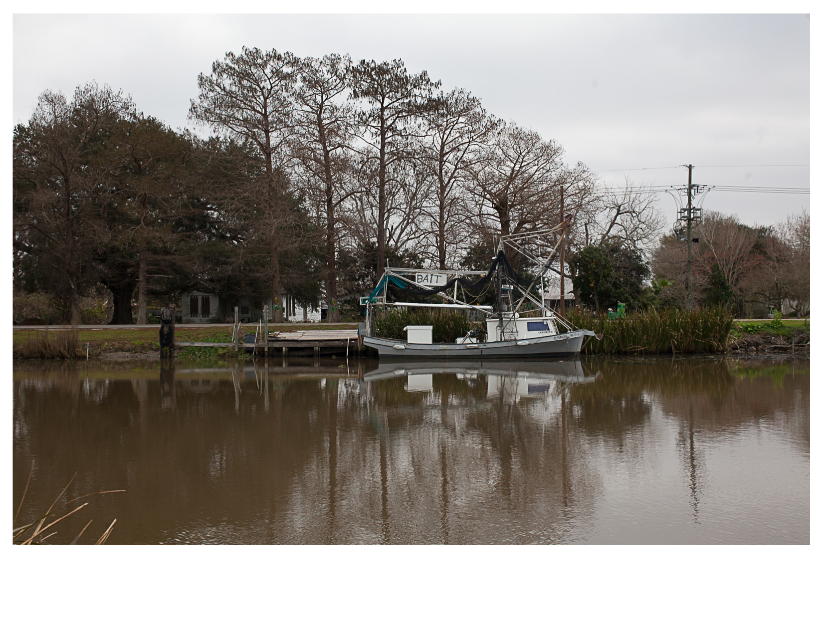 Bait Boat on the Bayou Lafourche, Cut Off, LA