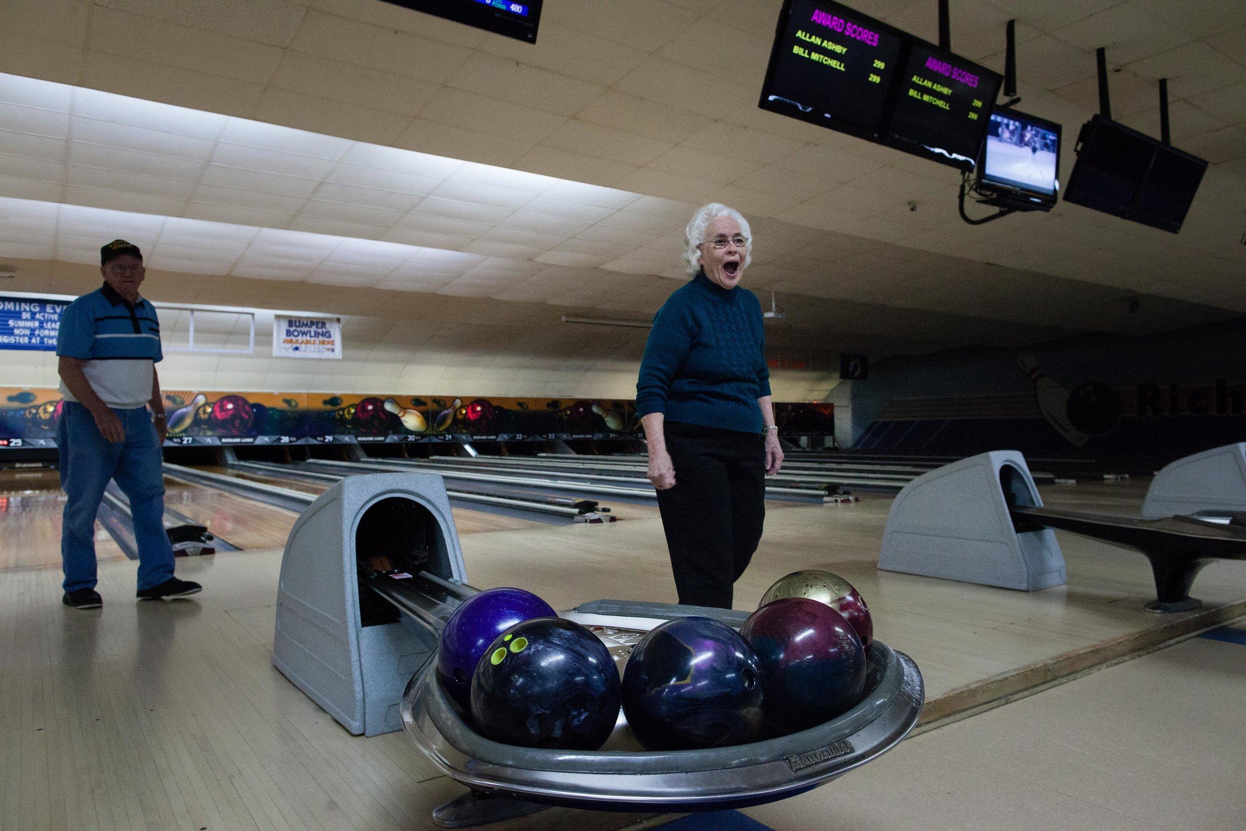 Dolly, 91st Birthday, Richland Lanes, Richland, PA