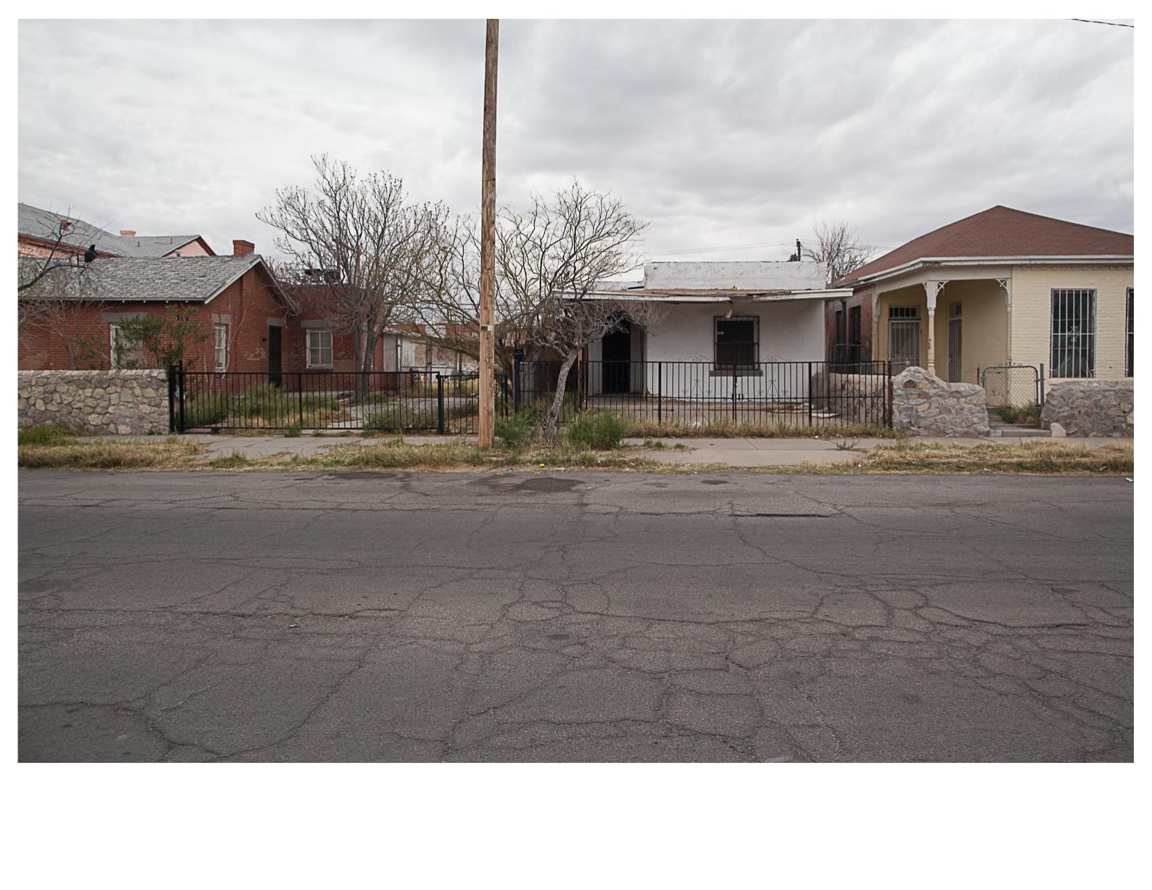Fourth Street, El Segundo Bario, El Paso, TX