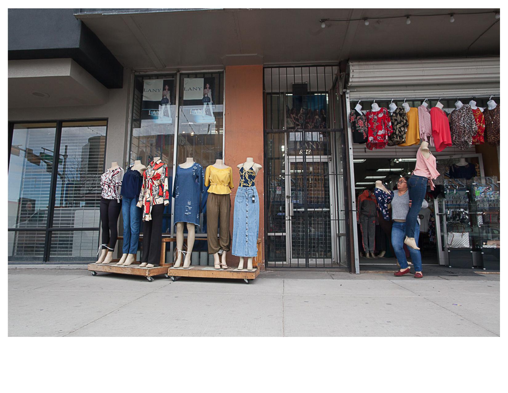 Shop on El Paso Street, Chihuahuita, El Paso, TX