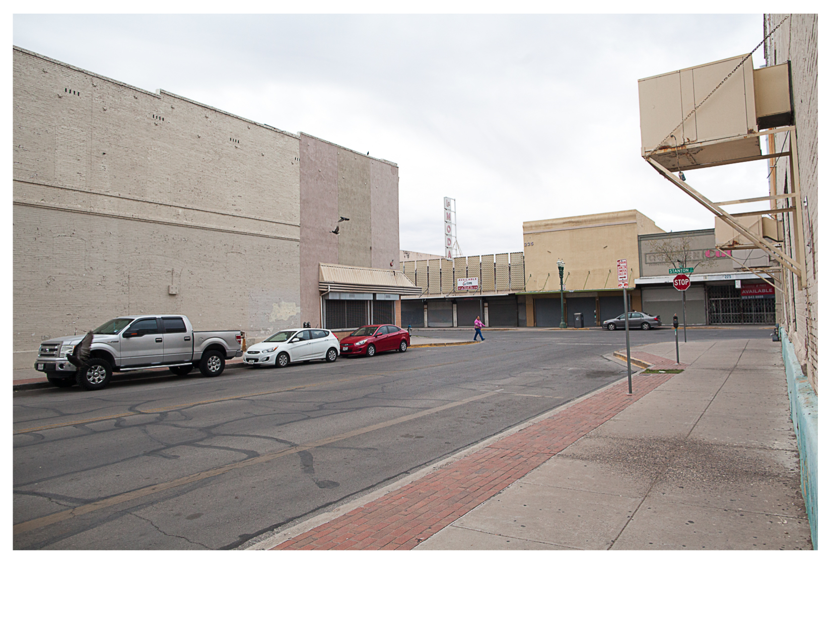 Stanton and First Street, El Paso, TX