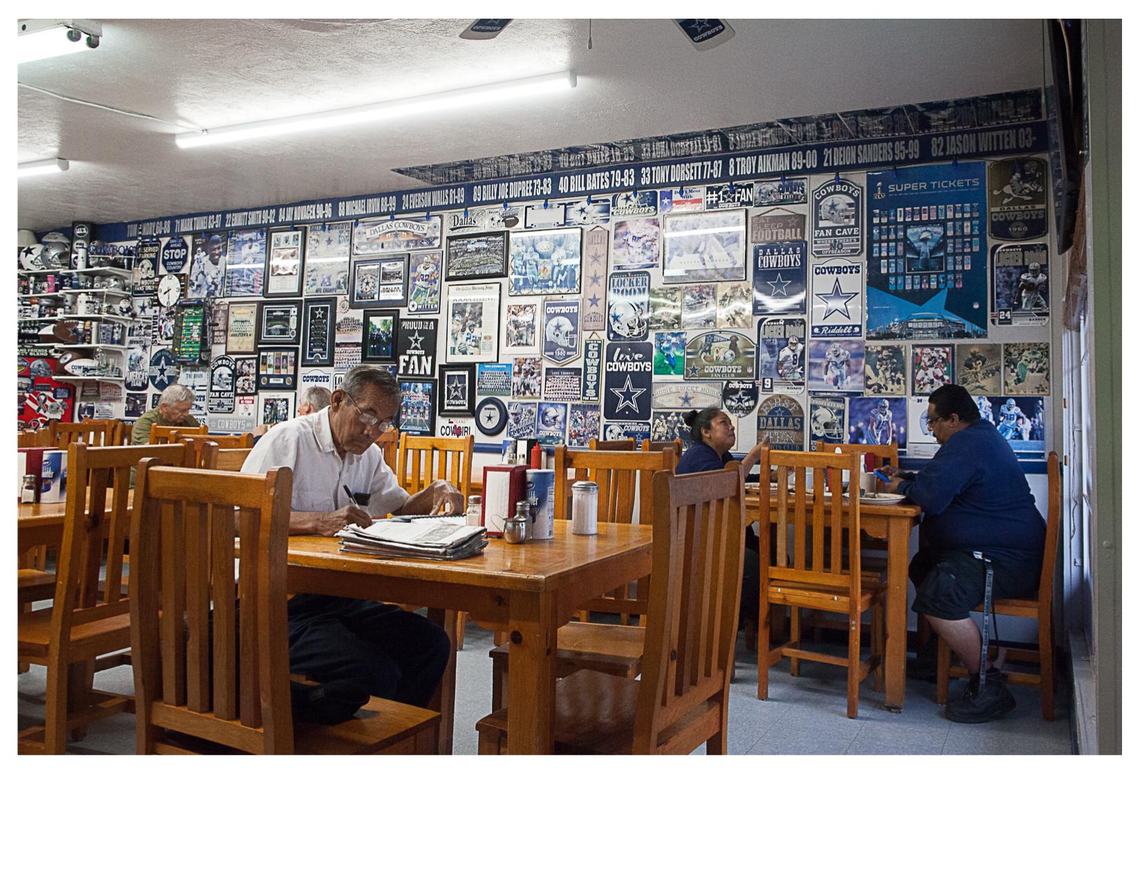 Inside Martha's Cafe, El Paso, TX