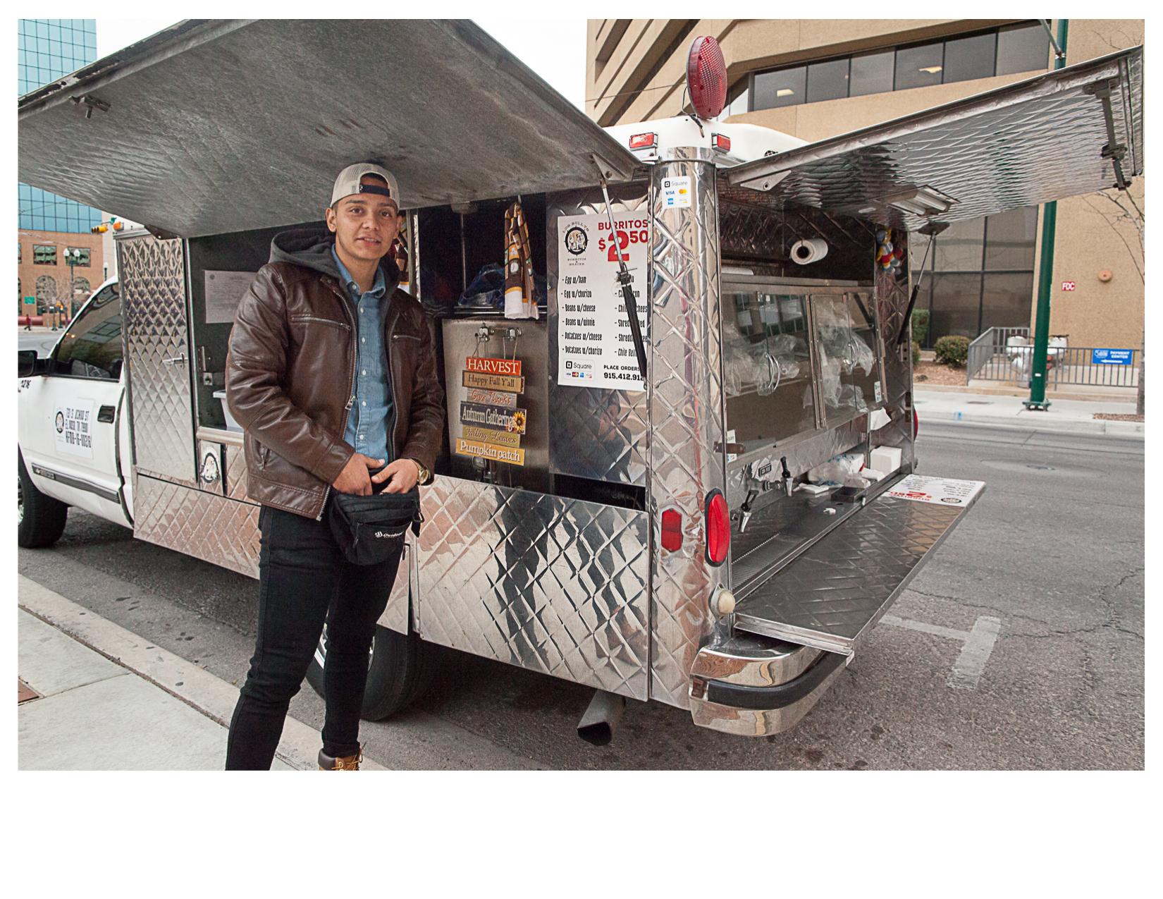 Luis and His Burrito Truck, El Paso, TX