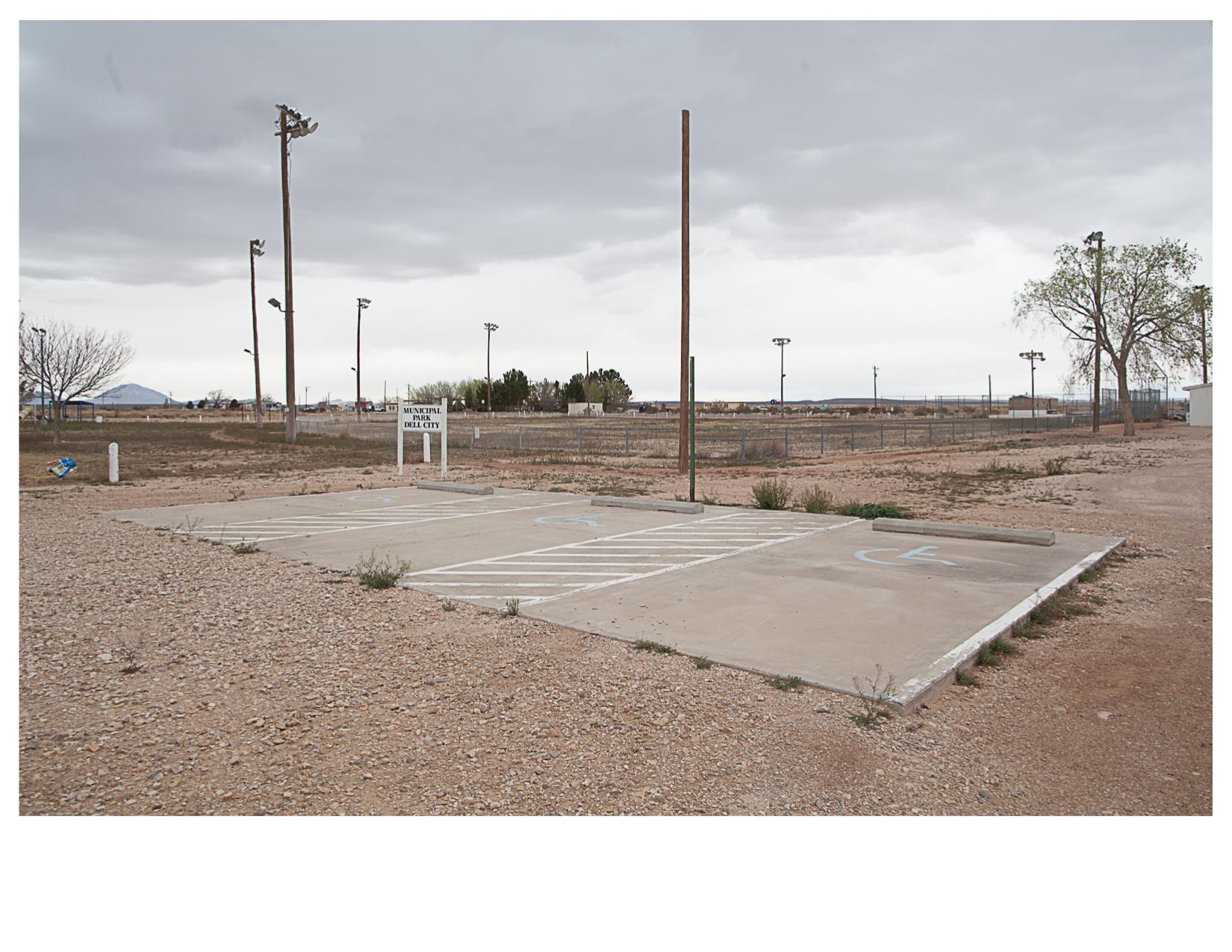 Handicap Parking, Dell City, TX