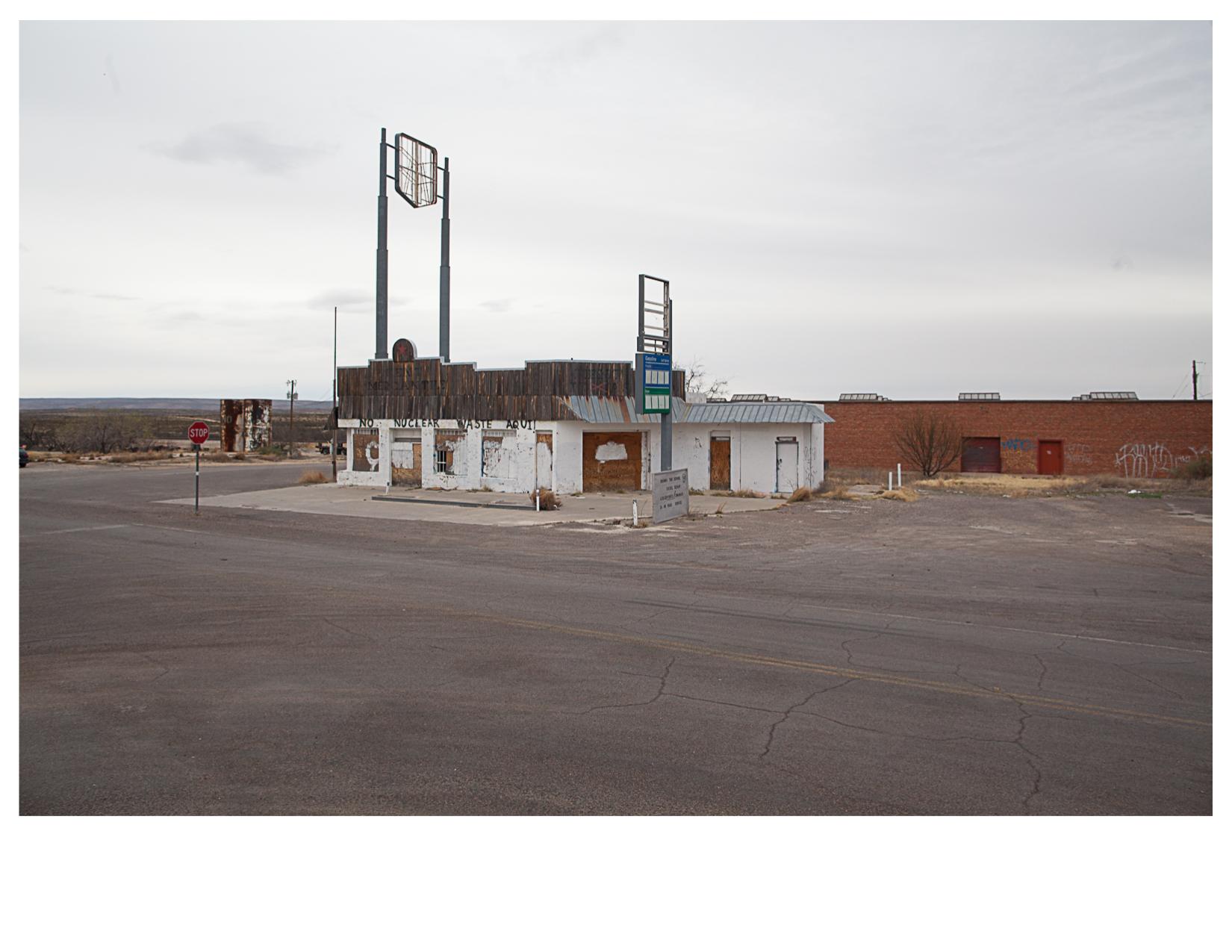 """""""No Nuclear Waste Aqui!"""", Kent, TX"""