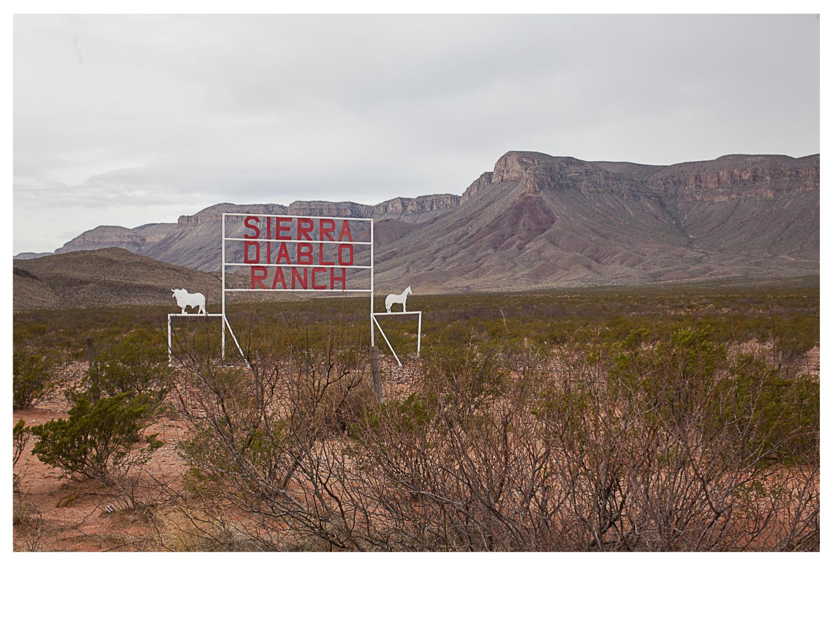 Sierra Diablo Ranch, North of Van Horn, TX
